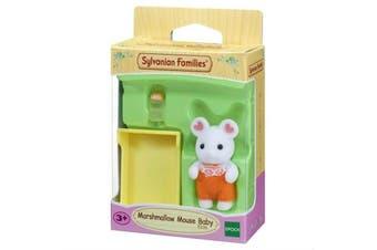 Sylvanian Families Marshmallow Mouse Baby