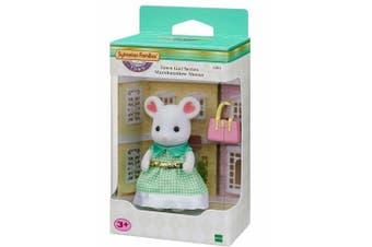 Sylvanian Families Town Girl Series  - Marshmallow Mouse