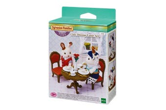 Sylvanian Families Chic Dining Table Set - 5368