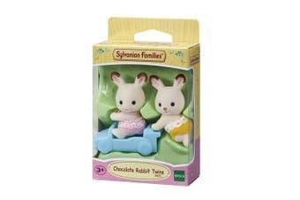 Sylvanian Families Chocolate Rabbit Twins