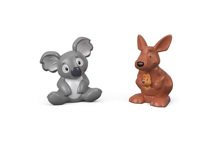 Little People Animal Figure 2 Pack - Kangaroo and Koala