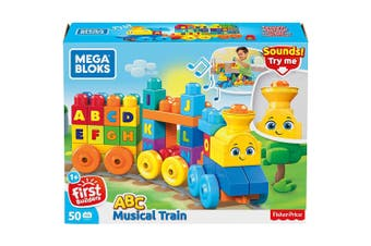 Mega Blocks First Builders Building Basic ABC Learning Train
