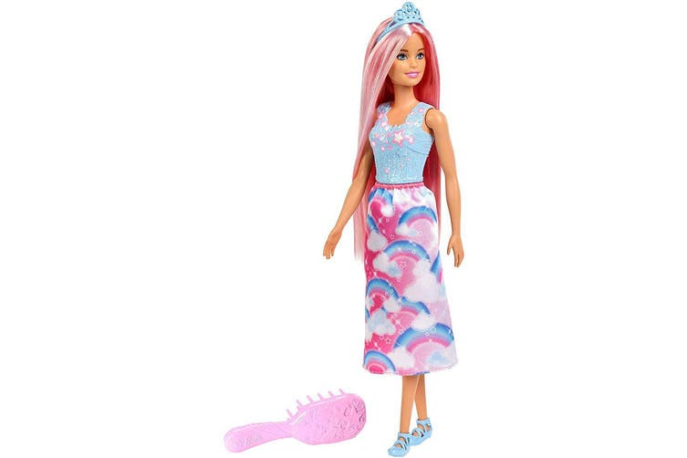 Barbie Dreamtopia Long Hair Princess Doll - Pink Hair
