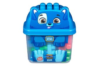 Mega Bloks Animal Buckets - Puppy