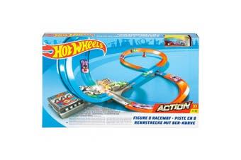 Hot Wheels Action Figure-8 Raceway Track