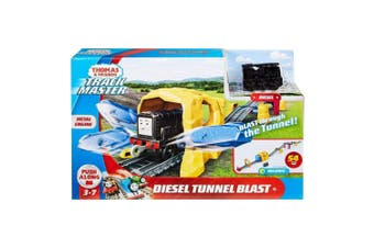 Thomas and Friends TrackMaster Diesel Tunnel Blast Train Set