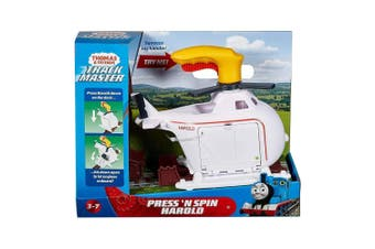 Thomas and Friends Press 'n' Spin Harold Helicopter