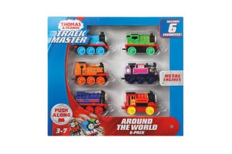 Thomas and Friends TrackMaster Around the World Metal Engine 6-Pack