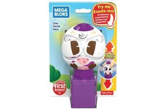 Mega Bloks Peek A Blocks Cow Toy