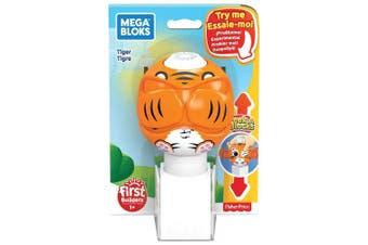 Mega Bloks Peek A Blocks Tiger Toy