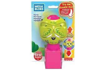 Mega Bloks Peek A Blocks Parrot Toy