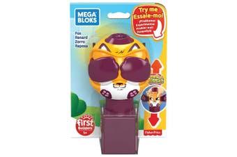 Mega Bloks Peek A Blocks Fox Toy