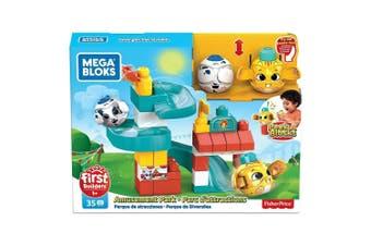 Mega Bloks Peek A Blocks Amusement Park Playset