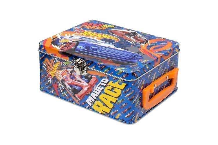 Hot Wheels 18-piece Tin Carry Case