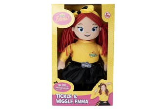 The Wiggles Tickle and Wiggle Emma Doll