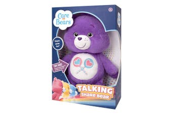 Care Bears Talking Plush Share Bear