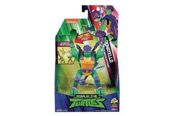 Rise Of The TMNT Deluxe Figures Donatello Slide Flip Ninja Attack