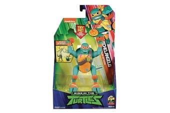 Rise Of The TMNT Deluxe Figures Michelangelo Pop-Up Ninja Attack
