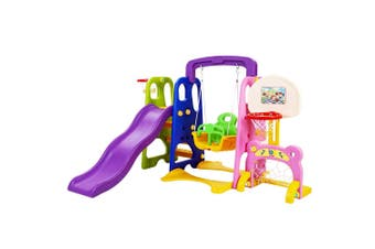 Keezi Kids 7-in-1 Toddler's Playground Set