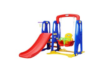 Keezi Kids 3-in-1 Toddler's Playground Set