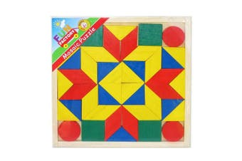 Fun Factory Wooden Mosaic Puzzle