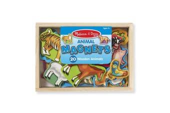 Melissa and Doug Animal Magnets - Box of 20