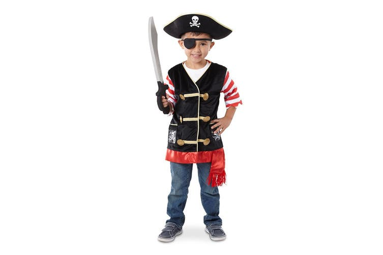 Melissa and Doug Pirate Role Play Costume