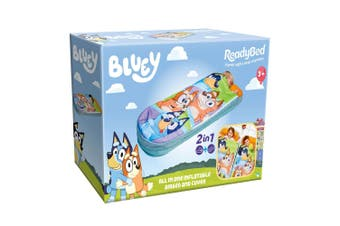 Bluey Junior ReadyBed Family
