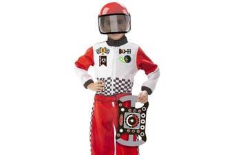 Melissa and Doug Race Car Driver F1 Costume