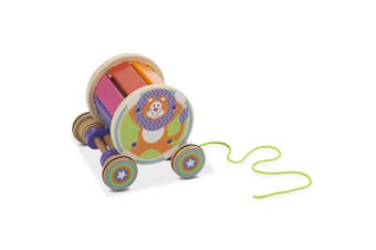 Melissa and Doug First Play Wooden Pull & Play Xylophone