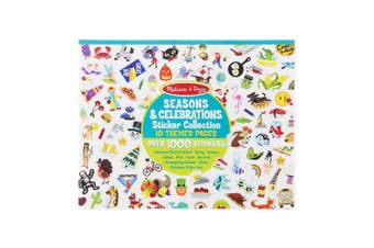 Melissa and Doug Sticker Collection Seasons & Celebrations Pad