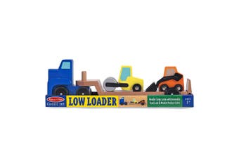 Melissa and Doug Wooden Low Loader
