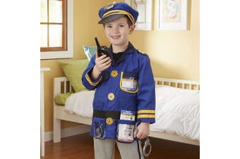 Melissa and Doug Police Officer Dress Up Costume