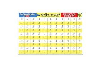 Melissa and Doug Subtraction Problems Write-A-Mat