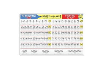 Melissa and Doug Counting to 100 Write-A-Mat