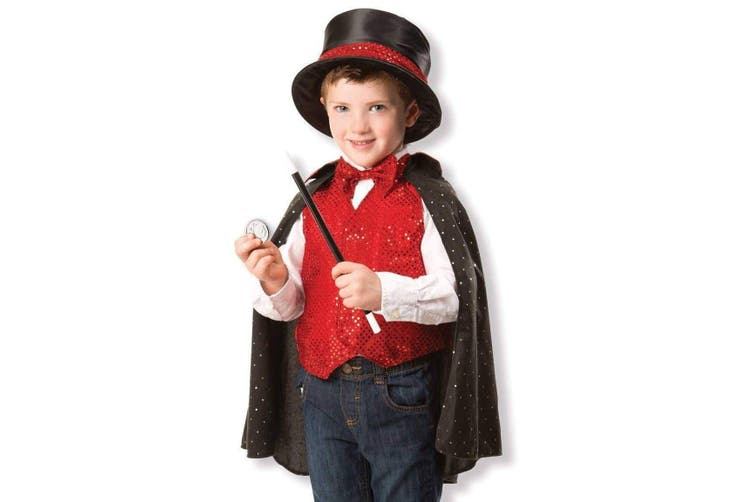 Melissa and Doug Magician Role Play Costume