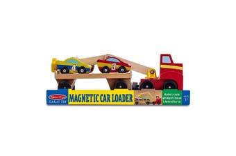 Melissa and Doug Wooden Magnetic Car Loader