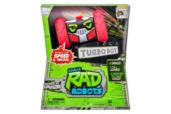Really RAD Robots Series 2 Turbo Bot