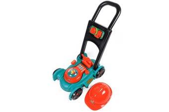 Garden Power Toy Lawn Mower with Helmet