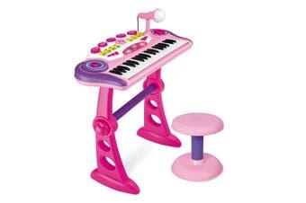 Electronic Kids Toy Keyboard Pink
