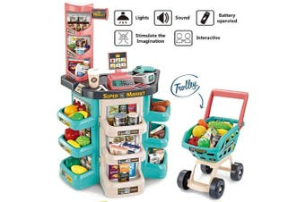 Kids Home Supermarket Table Playset