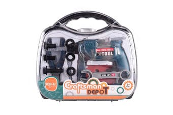 Craftsman Depot Impact Drill Toy Toolset