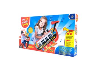 Kids Electric Musical Keyboard in Red and Black