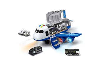 Police Plane and Car Playset