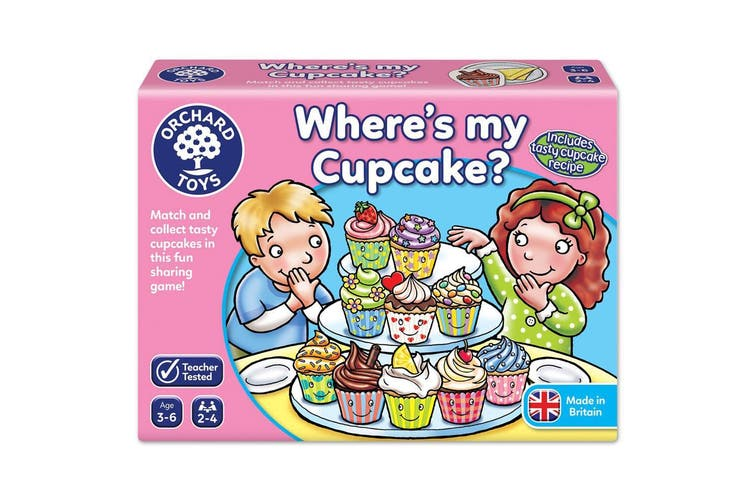 Orchard Toys Where's My Cupcake Game
