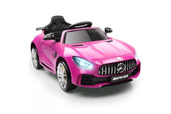 Mercedes-AMG GTR Inspired Kids Electric Ride On Car  – Pink