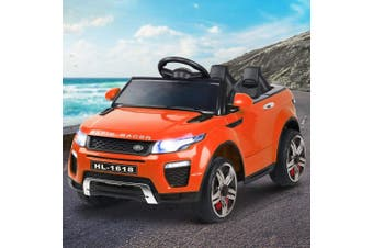 Range Rover Inspired Kids Electric Car in Orange