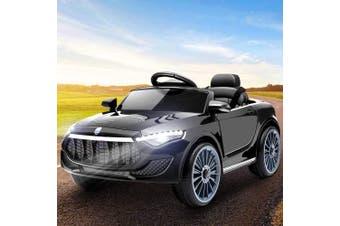 Kids Maserati Inspired Electric Ride On Car in Black