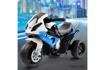 BMW Inspired Electric Motorbike for Kids - Blue
