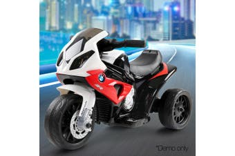 BMW Inspired Electric Motorbike for Kids - Red